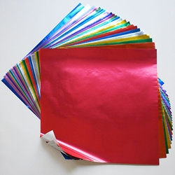 "Foil Origami Paper Multi Color Pack - 12"" Square"