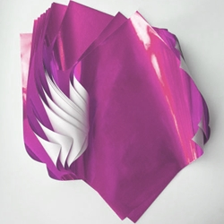 "Foil Origami Paper - Pink 12"" Square"
