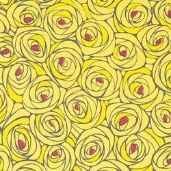Rose Garden in Yellow - Chiyogami Paper