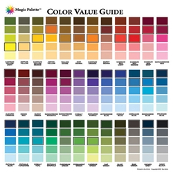 Magic Palette - Color Value Guide