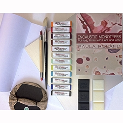Encaustic Monotype Starter Set with DVD