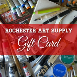 Rochester Art Supply Physical Gift Card