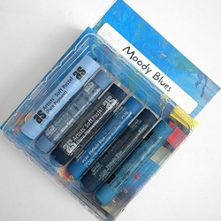 Art Spectrum Pastel Sets - Moody Blues Set of 6