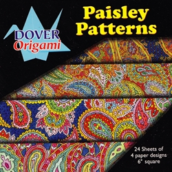Dover Origami - Paisley Pattern