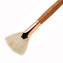 Princeton Best Natural Bristle Oil & Acrylic Brushes - Fans