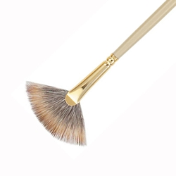 Princeton Synthetic Mongoose Brushes - Fans