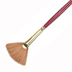 Princeton Best Synthetic Sable Brushes - Fan - Size 4