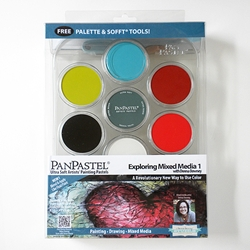 PanPastel Starter Kit - Exploring Mixed Media 1