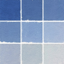 Roche Pastel Values Sets of 9 - Cerulean Blue 7210 Series
