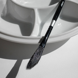 Silver Brush Black Velvet Brushes - Dagger Striper