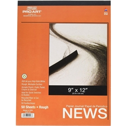 ProArt Rough Newsprint Pad