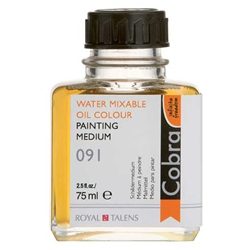 Cobra Water Mixable Oil Colour Painting Medium