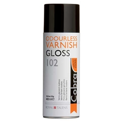Cobra Water Mixable Oil Colour Painting Spray Varnishes