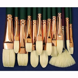 Everett Raymond Kinstler Set of 13 Landscape Silver Brushes