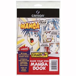 Canson Fanboy Make Your Own Manga Book