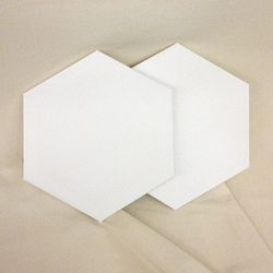 Masterpiece Hexagon Canvas