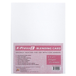 Blending Card by X-Press It: 25 Sheet Pack