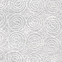 "R.O.C. (Taiwan) Lace - White Lightweight Spiral 24""x38"" Sheet"