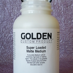 Golden Acrylic Super Loaded Matte Medium