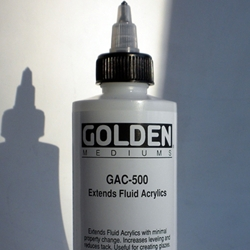 Golden Acrylic Polymer GAC-500 Extends Fluid Acrylics