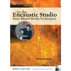 In The Encaustic Studio, Basic Mixed Media Techniques DVD
