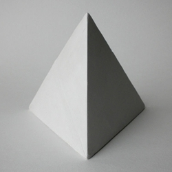Masters Plaster Four Sided Pyramid
