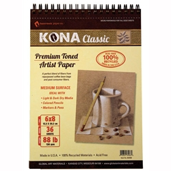 Kona Classic Premium Toned Artist Paper Set With Gourmet Coffee Coupon