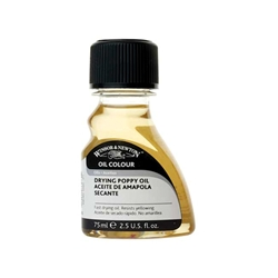 Winsor & Newton Drying Poppy Oil - 75ml Bottle