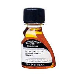 Winsor & Newton Drying Linseed Oil - 75ml Bottle