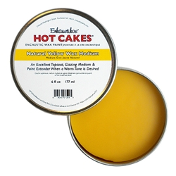 Enkaustikos Hot Cakes Natural Yellow Wax Medium - 6oz