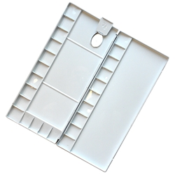 Aluminum Folding Watercolor Palette 24 Well