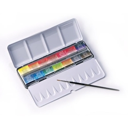 Sennelier Aquarelle Travel Set of 14 Half-Pans