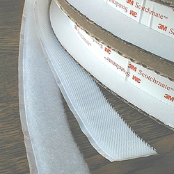 "3M Scotchmate Reclosable Fastner Loop - 1"" Width - Sold by the Yard"