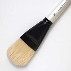 Simply Simmons XL Brushes - Natural Bristle - Filbert