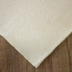 "Hemp Paper - 250 gsm 20 x 30"" Antique Natural Deckle (Single Sheets)"