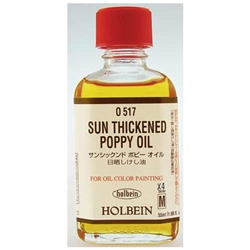 Holbein Sun Thickened Poppy Oil - 55ml Bottle