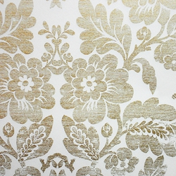 Rossi Decorative Paper from Italy- Distressed Gold Floral Pattern 28x40 Inch Sheet