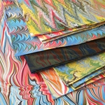 Stephen Pittelkow Hand Marbled Paper