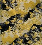 "Black, Silver, and Gold Butterflies and Flowers 1 Sheet 19""x25"""