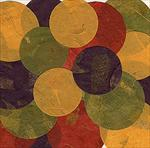 Pack of 20 Colorful Mango Paper Circles