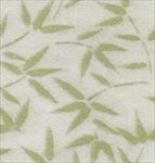 "Bamboo Leaves on Green 21.5""x31.5"" Sheet"