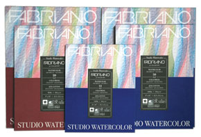 Fabriano Studio Watercolor 140lb Pads