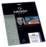 Canson Infinity - Rag Photographique 210gsm (Ten 8.5x11 Inch Sheets)
