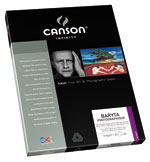 Canson Infinity - Baryta Photographique 310gsm (Twenty-Five 8.5x11 Inch Sheets)