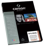 Canson Infinity - BFK Rives 310gsm White (Twenty-Five 8.5x11 Inch Sheets)