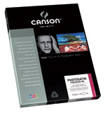 Canson Infinity - PhotoSatin Premium RC 270gsm (Twenty-Five 8.5x11 Inch Sheets)