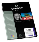 Canson Infinity - Platine Fiber Rag 310gsm (Twenty-Five 8.5x11 Inch Sheets)