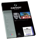Canson Infinity - Rag Photographique 310gsm (Twenty-Five 8.5x11 Inch Sheets)