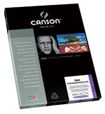 Canson Infinity - Rag Photographique Duo 220gsm (Twenty-Five 8.5x11 Inch Sheets)