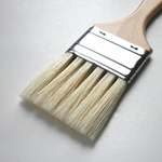 Enkaustikos Slotted Hog Bristle Brushes